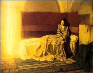 Henry Ossawa Tanner, The Annunciation, 1898